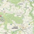 Nádrž Záhorská Mapa