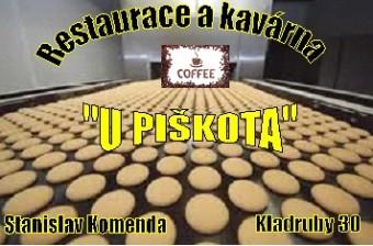 Restaurace a kavárna U Piškota logo
